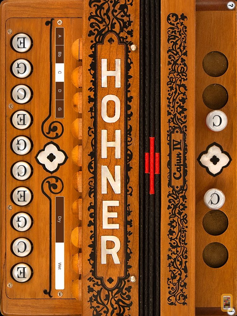 Screenshot - Hohner Cajun SqueezeBox