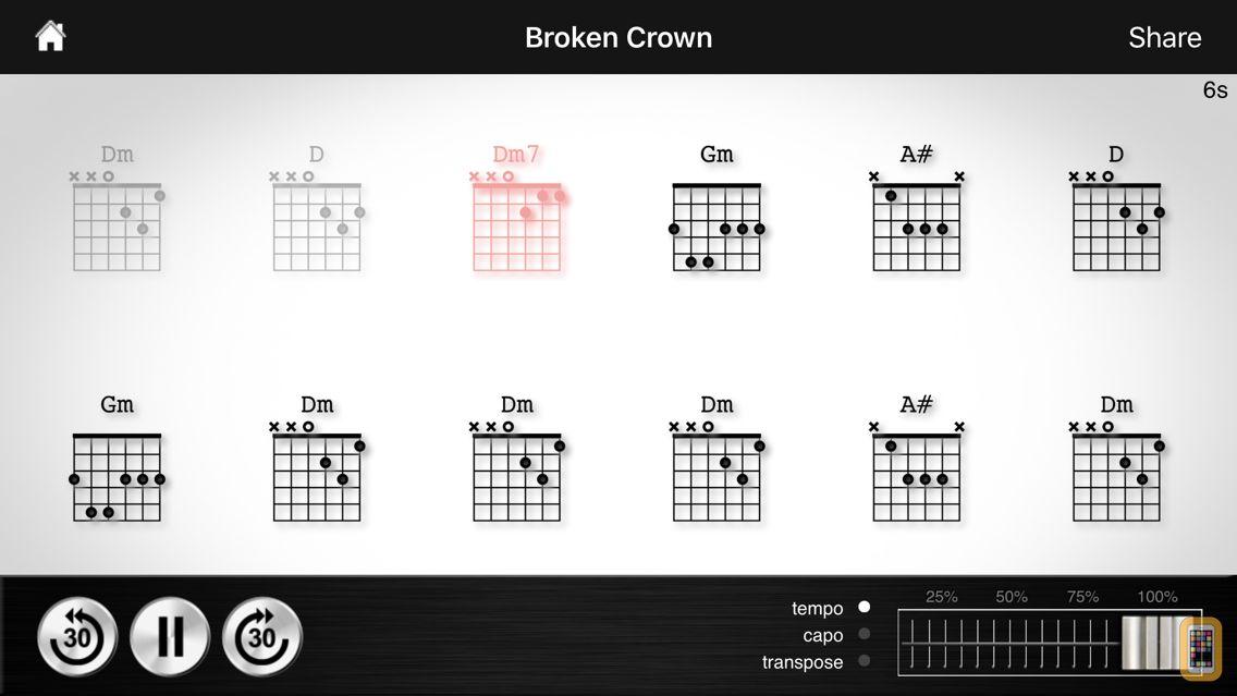 Screenshot - Chord Detector - Guitar, Ukulele, Banjo