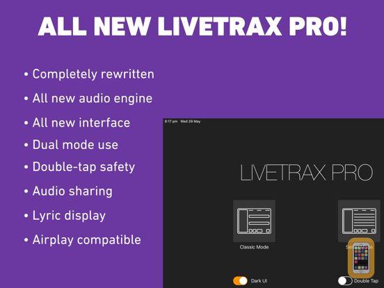 Screenshot - LiveTrax Pro