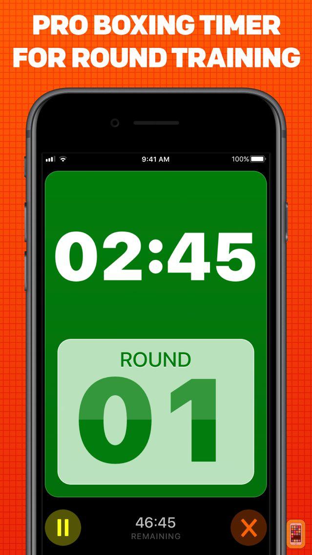 Screenshot - Boxing Timer Pro Round Timer