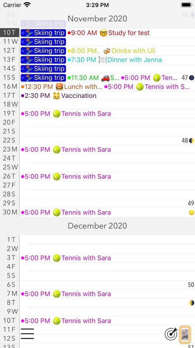 Screenshot - Calendar+