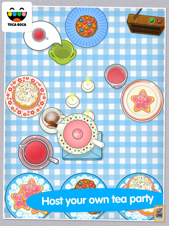 Screenshot - Toca Tea Party