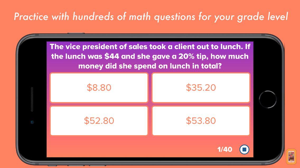 Screenshot - 6th Grade Math Testing Prep