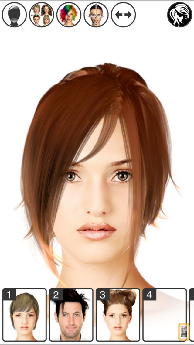 Screenshot - Hairstyle Magic Mirror