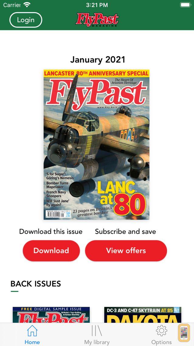 Screenshot - FlyPast magazine - At the Heart of Aviation Heritage