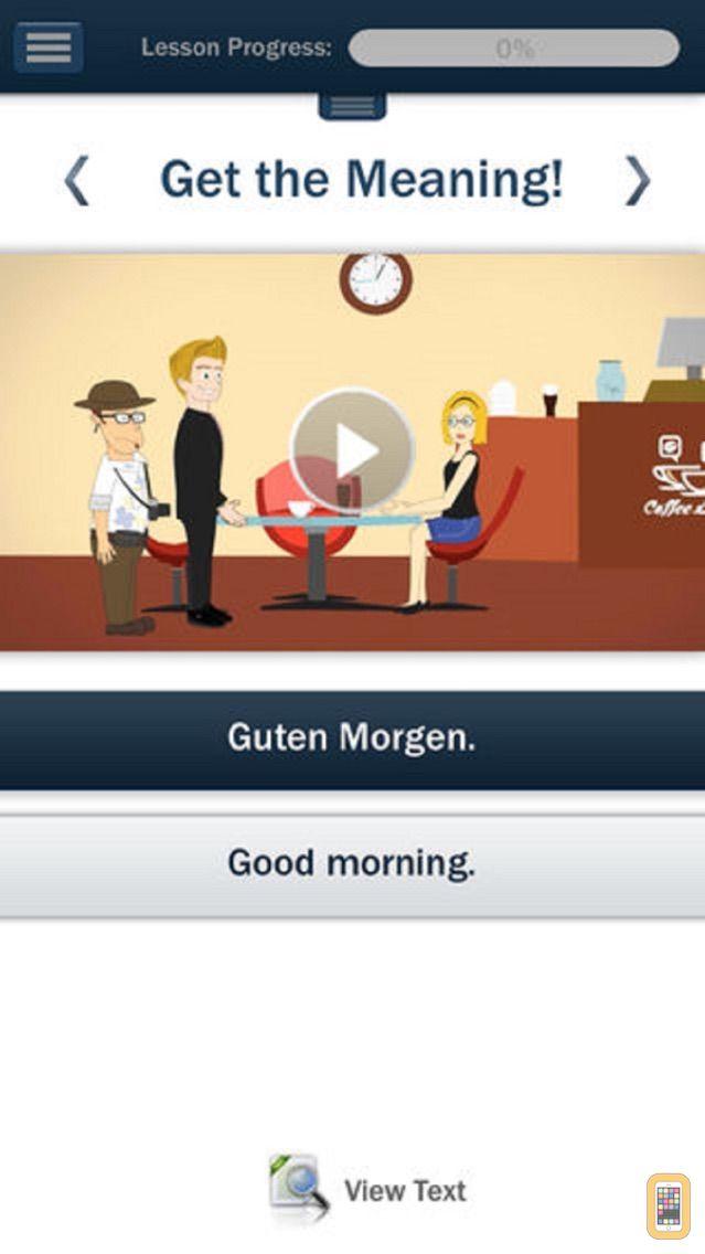 Screenshot - Hello-Hello German (for iPhone)
