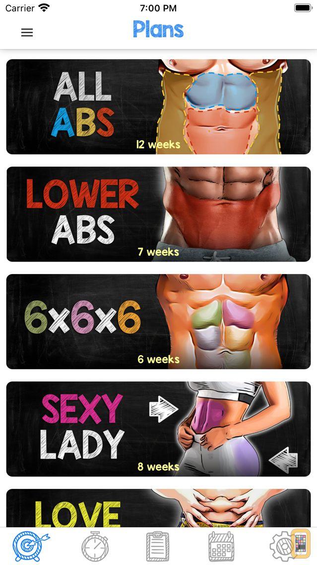 Screenshot - Abs Workout - Daily Fitness