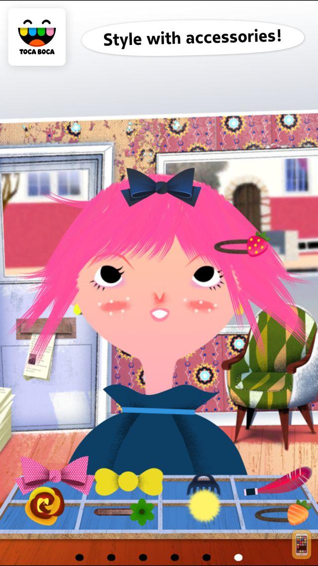 Screenshot - Toca Hair Salon