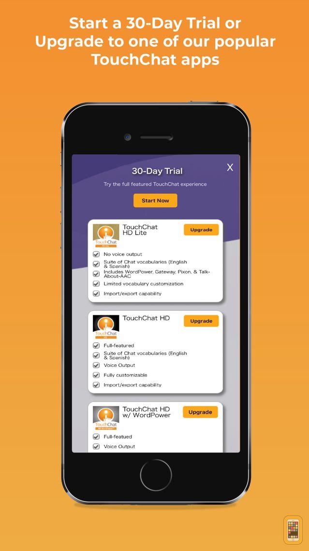Screenshot - TouchChat HD  - Lite