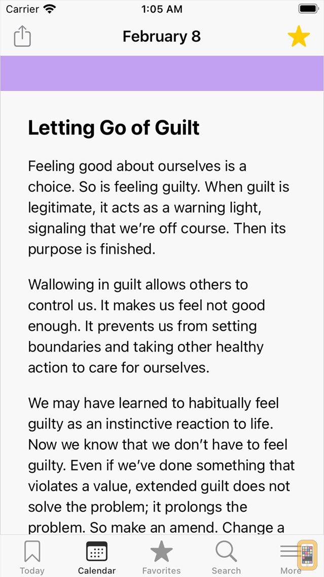 Screenshot - The Language of Letting Go
