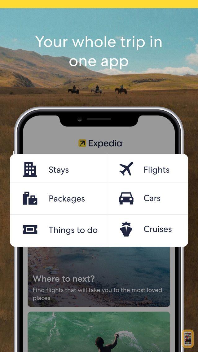 Screenshot - Expedia Hotels, Flights, Deals