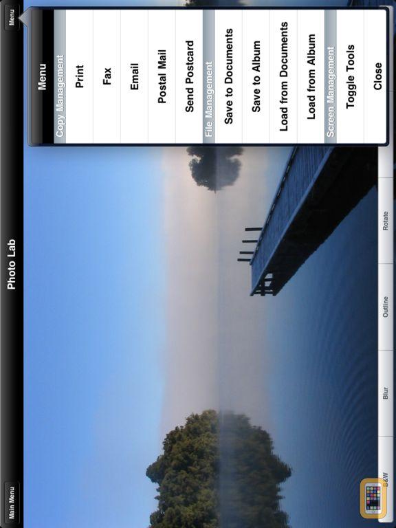 Screenshot - Faxing for iPad