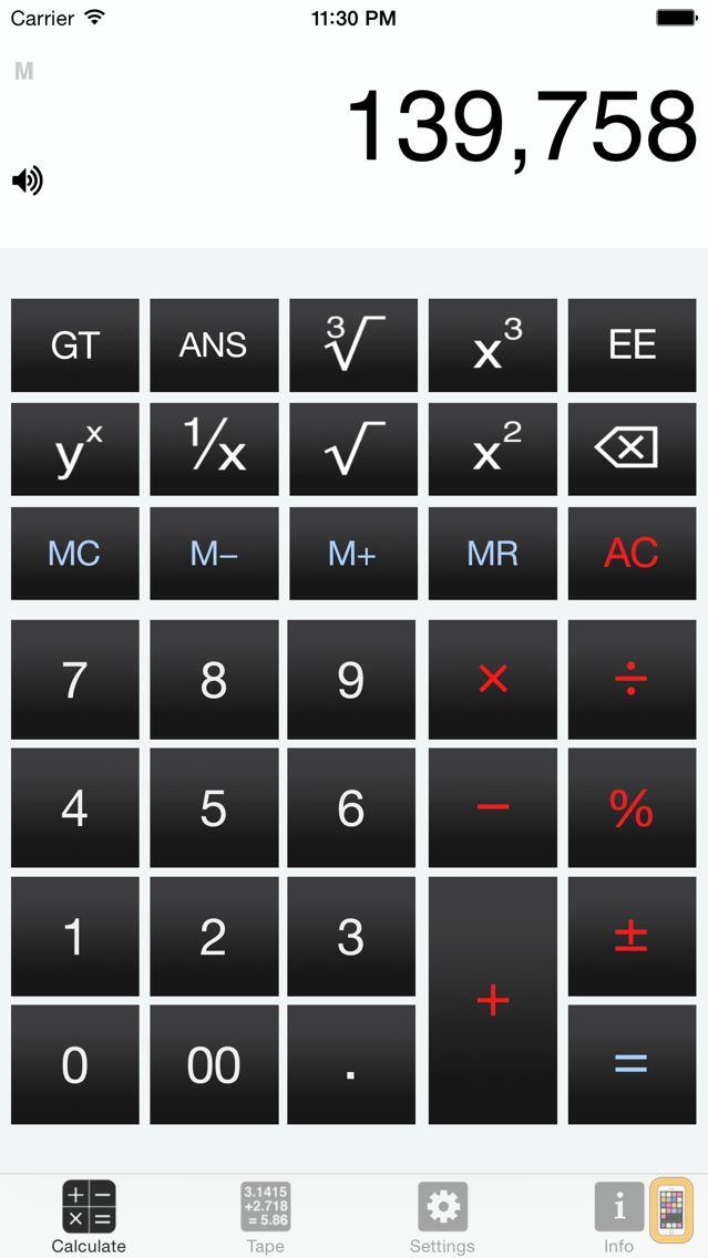 Screenshot - CalculateRetro