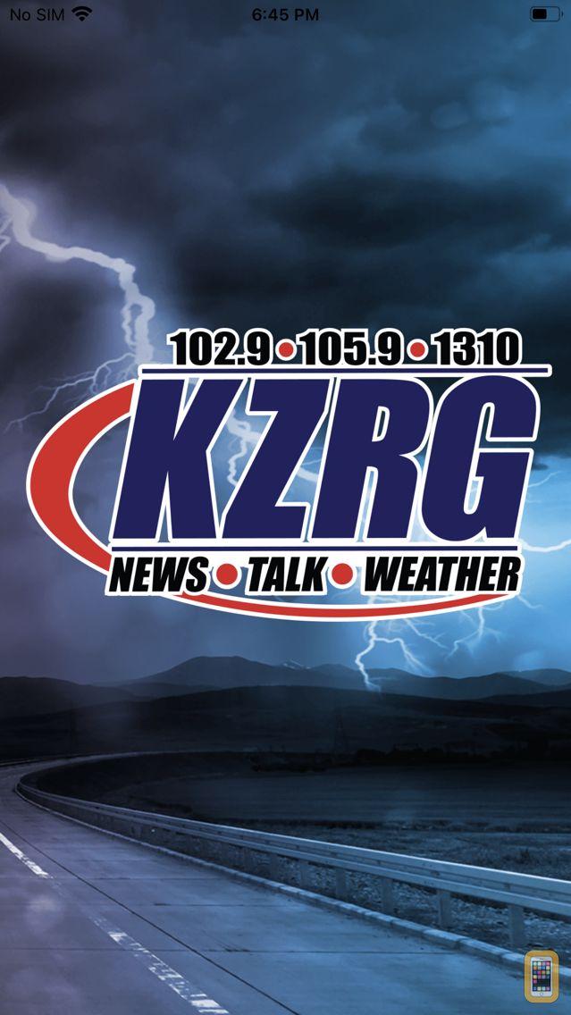 Screenshot - NewsTalk KZRG