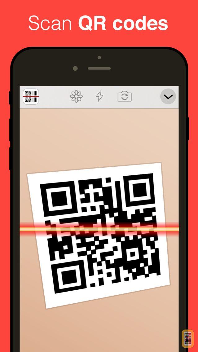 Screenshot - QR Reader for iPhone (Premium)