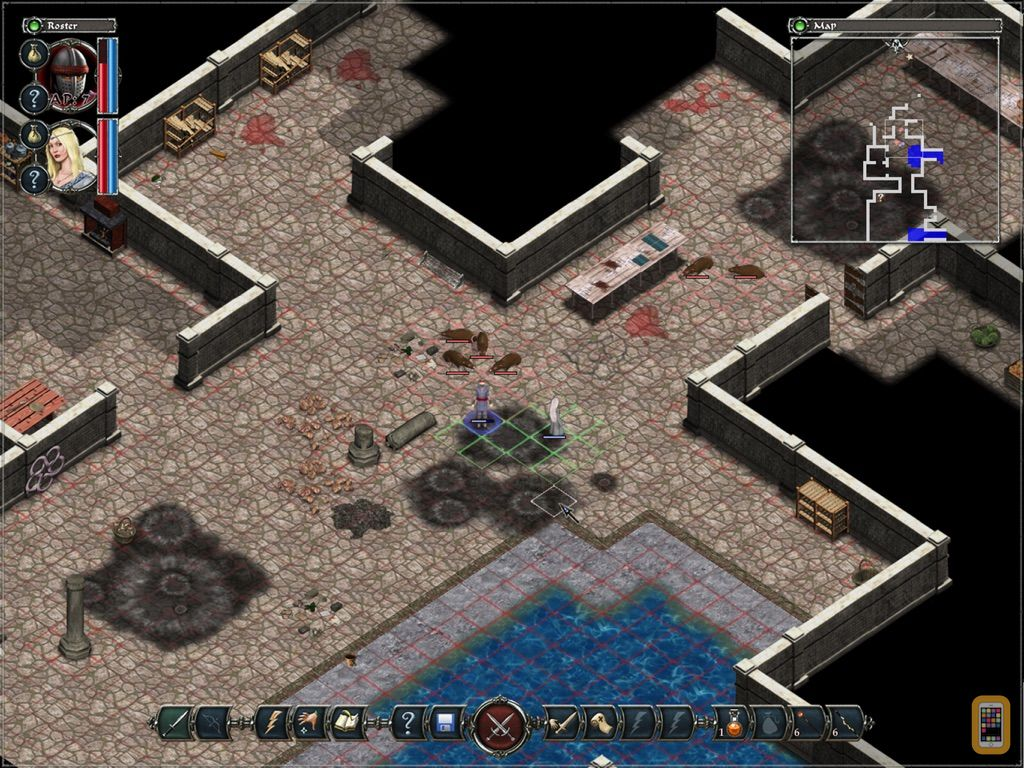Screenshot - Avadon: The Black Fortress HD