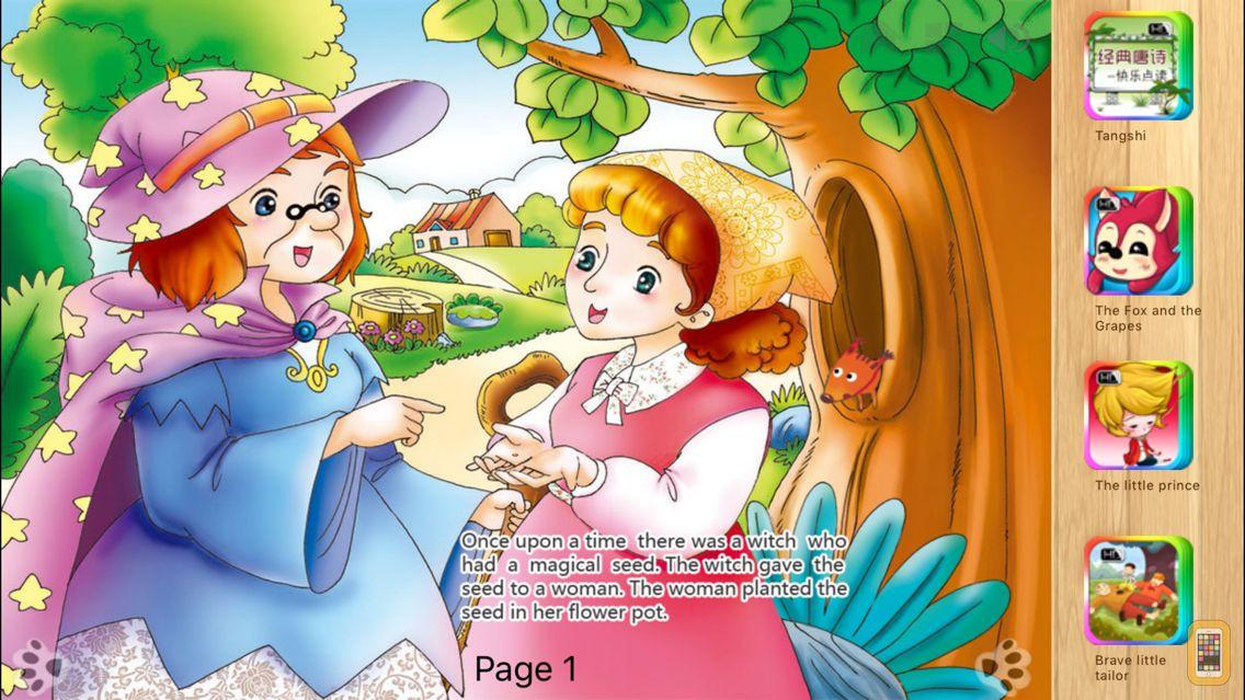 Screenshot - Thumbelina iBigToy