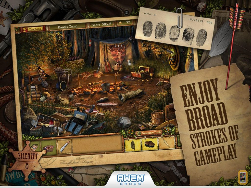 Screenshot - Golden Trails: Hidden Object Adventure (Premium)