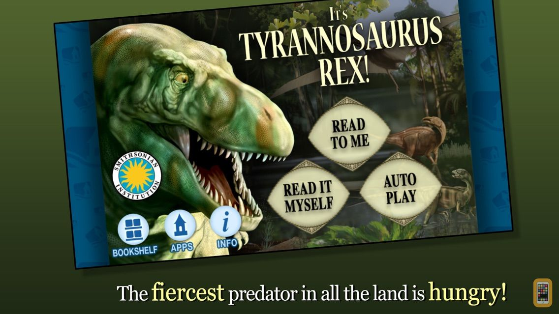 Screenshot - It's Tyrannosaurus Rex - Smithsonian Institution
