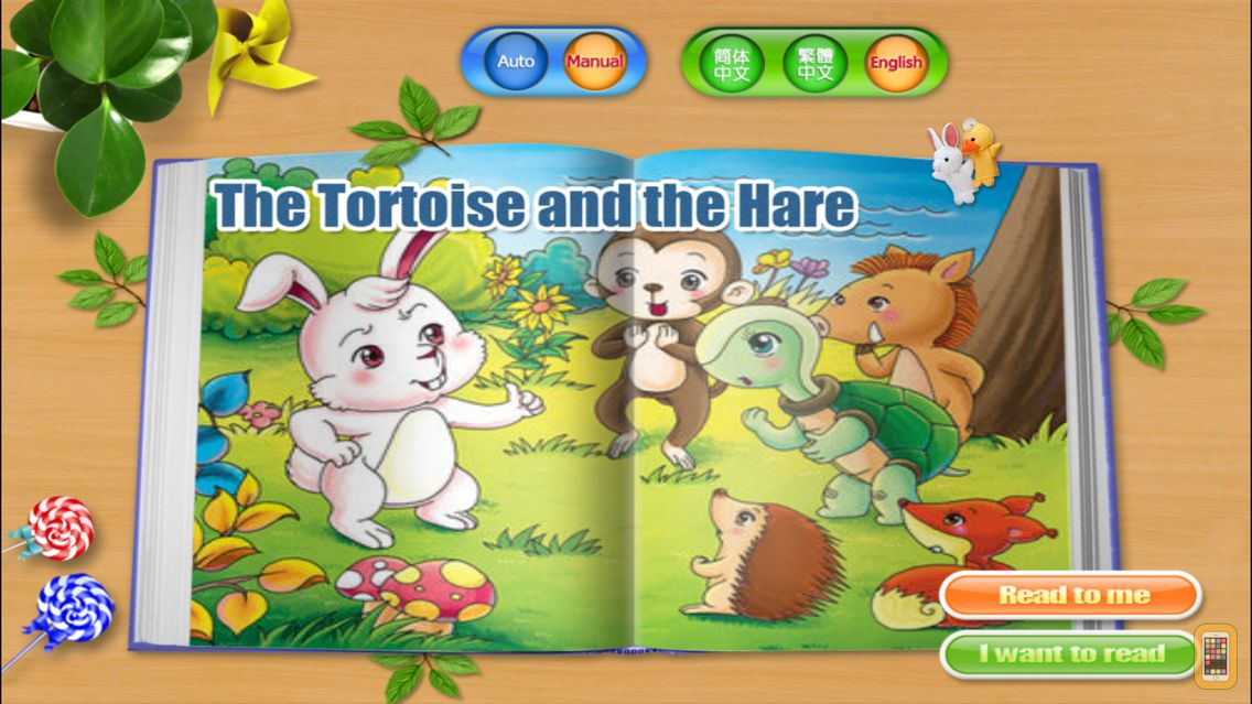Screenshot - The Tortoise and the Hare - Fairy Tale iBigToy