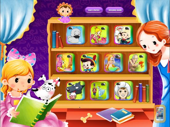 Screenshot - 10 Classic Fairy Tales Interactive Books