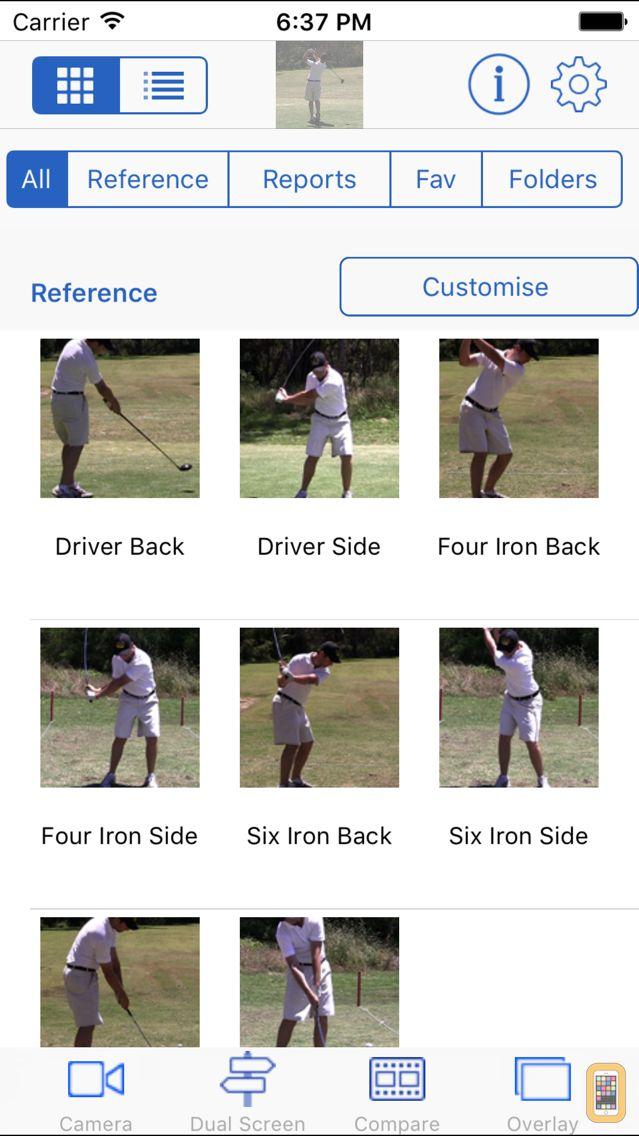 Screenshot - Golf Coach Plus HD