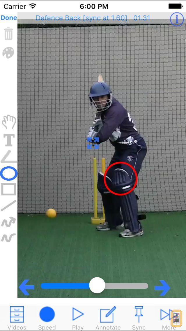 Screenshot - Cricket Coach Plus HD