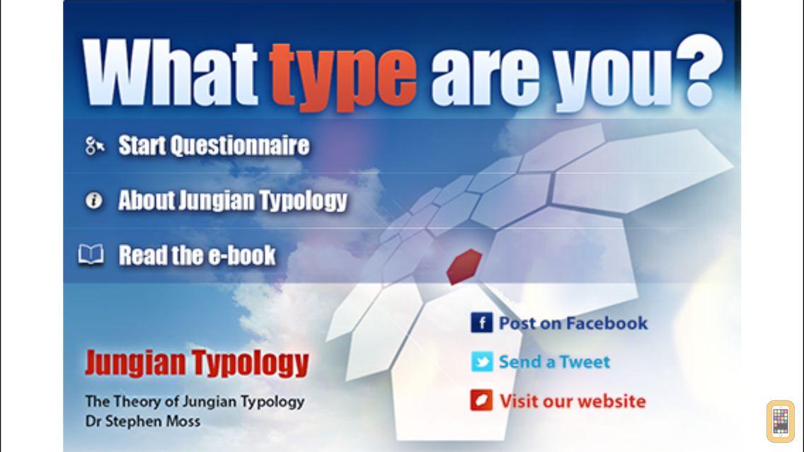 Screenshot - Jungian Type Questionnaire