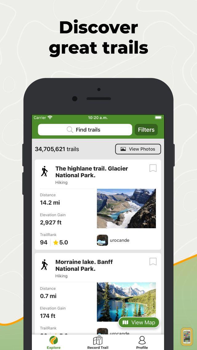 Screenshot - Wikiloc Outdoor Navigation GPS