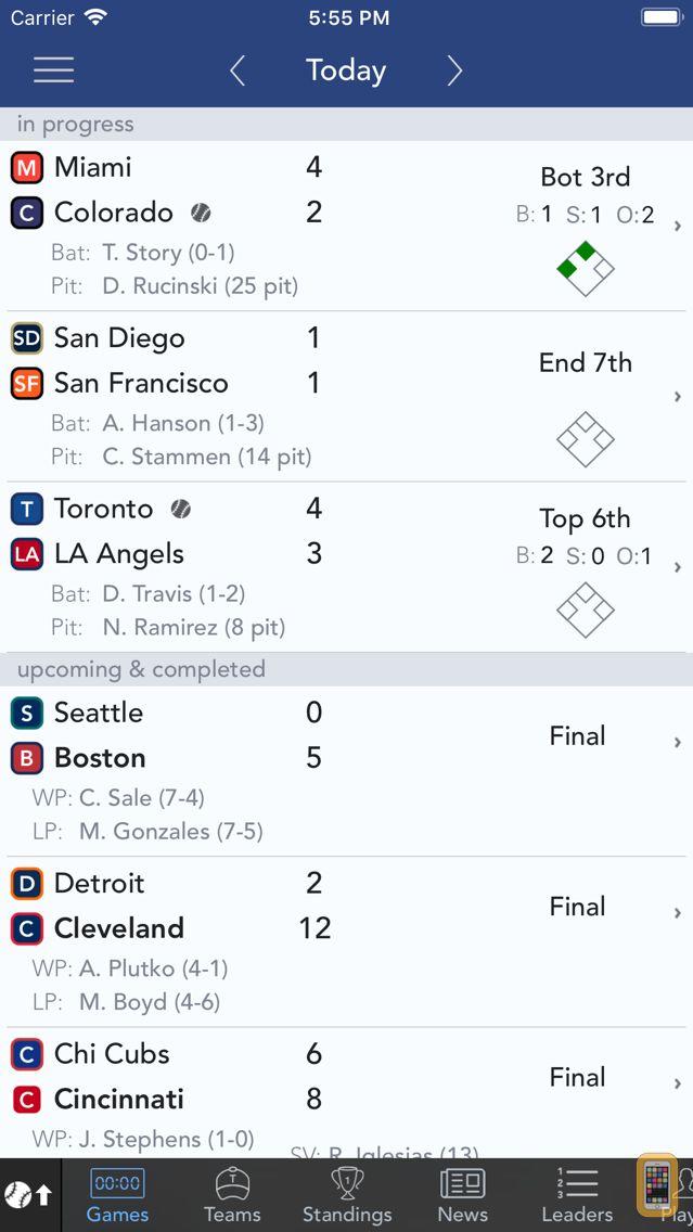 Screenshot - Sports Alerts