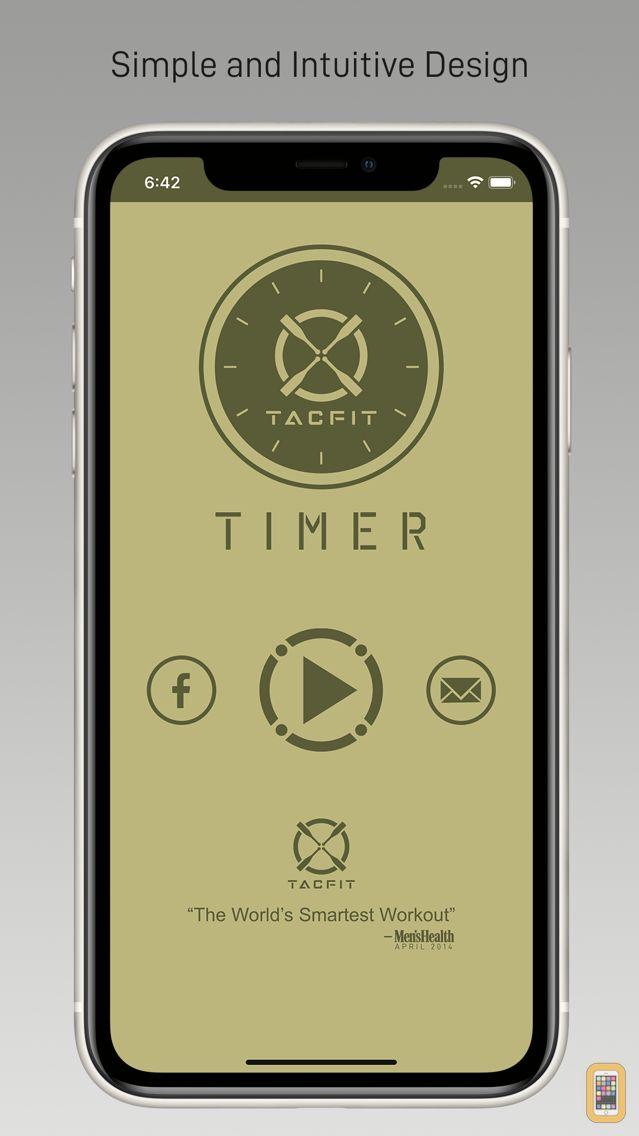 Screenshot - Tacfit Timer