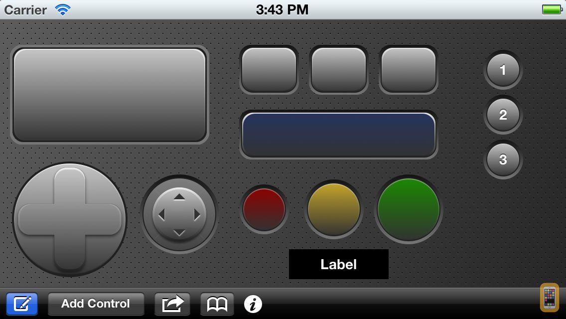 Screenshot - Custom Keypad