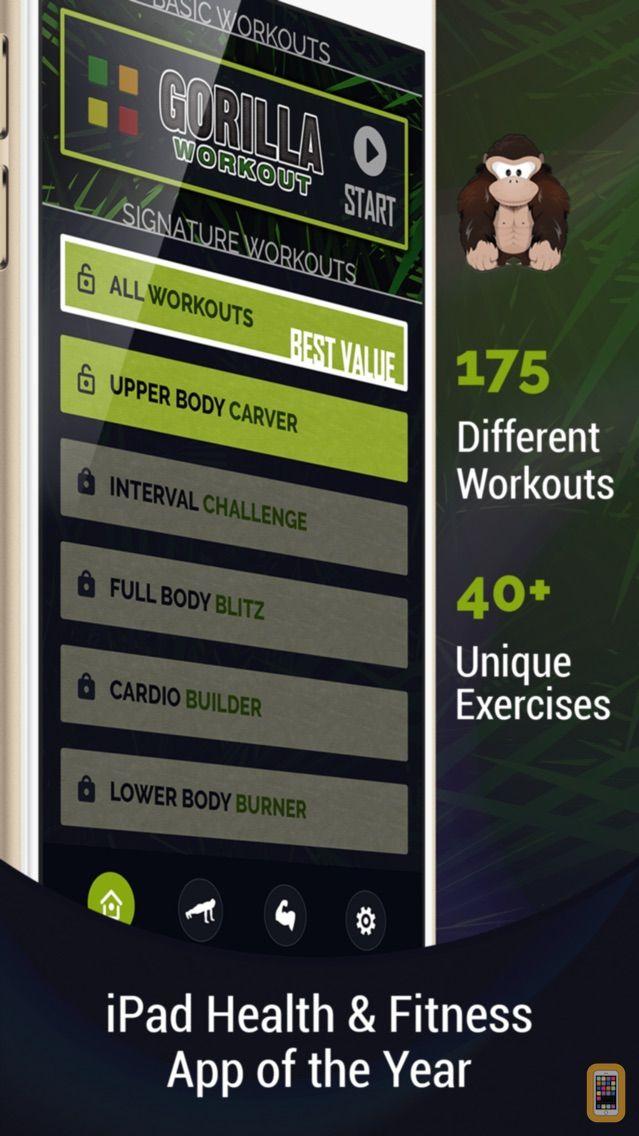 Screenshot - Gorilla Workout: Build Muscle