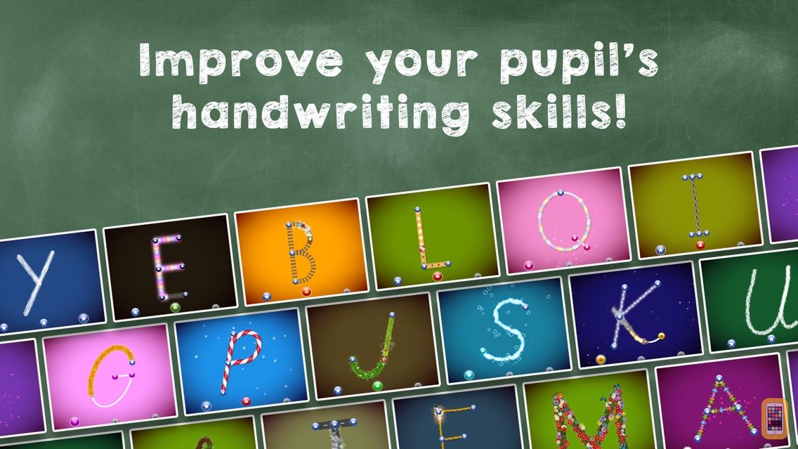 Screenshot - LetterSchool - learn to write letters and numbers