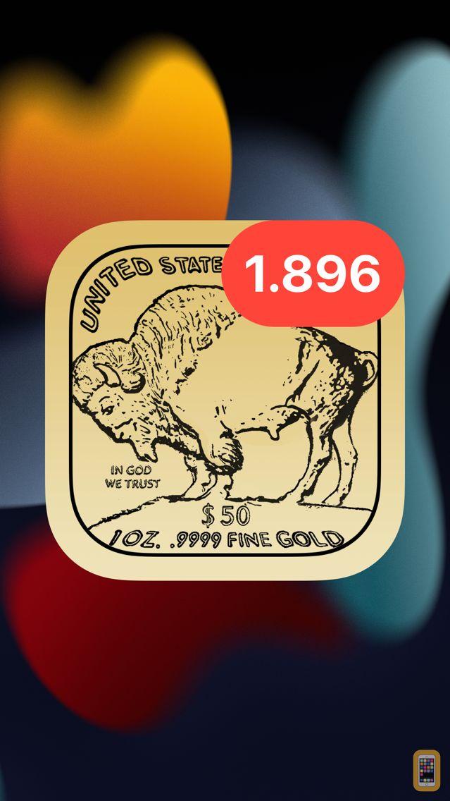 Screenshot - Gold - Live Badge Price