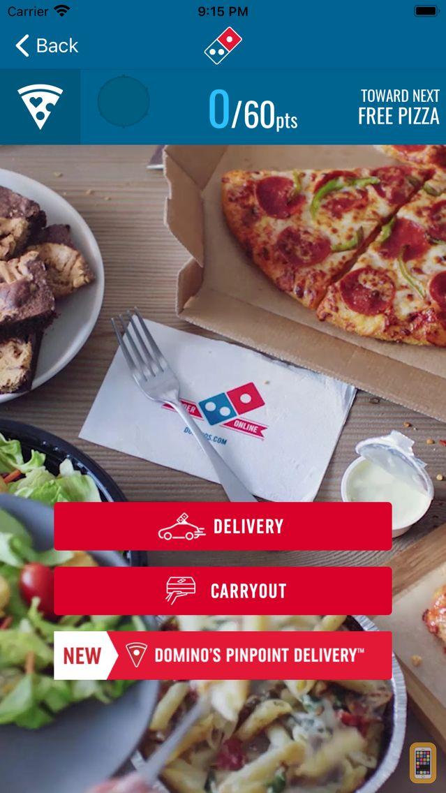 Screenshot - Domino's Pizza USA