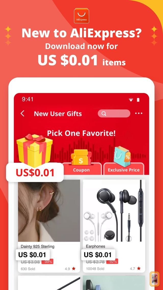 Screenshot - AliExpress Shopping App