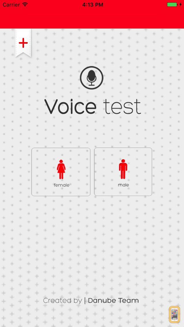 Screenshot - Voice Test