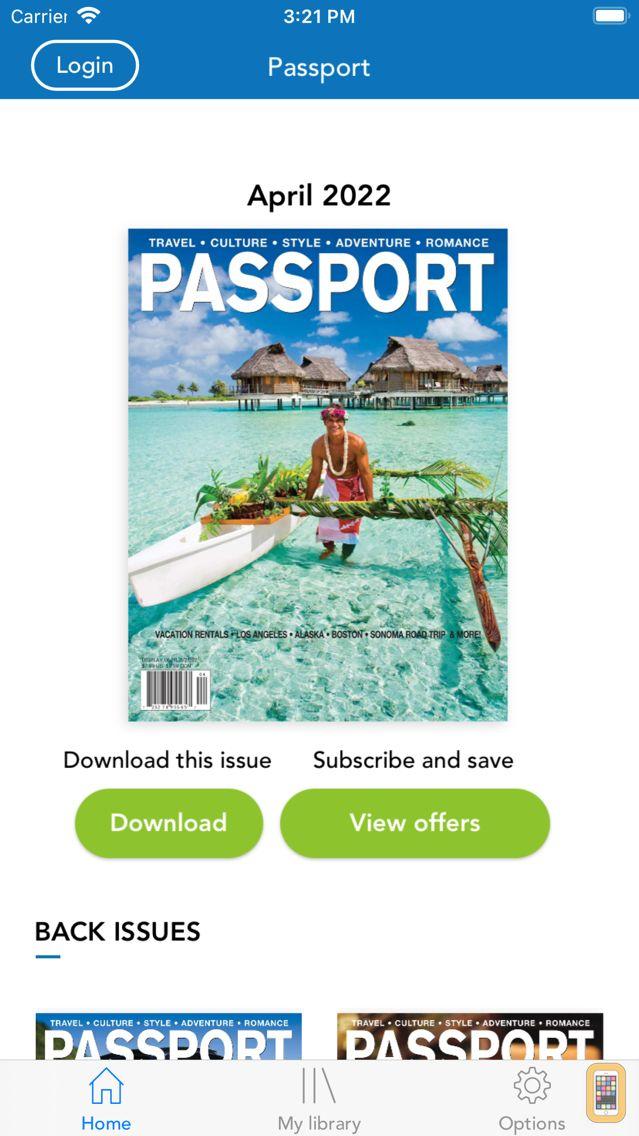 Screenshot - Passport Magazine