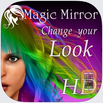 Hairstyle Magic Mirror HD by Touch Multimedia (iPad)