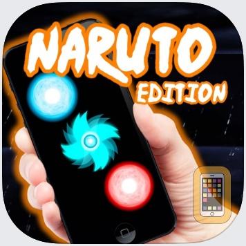 Jutsu Simulator  - Naruto Jutsus Edition - Make Rasengan, Chidori, Rasenshuriken, Mangekyou Sharingan and Katon by Hitoshi Seki Yanaguibashi (iPhone)