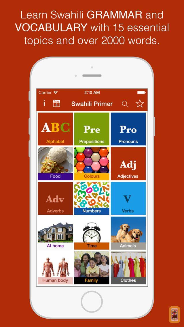 Screenshot - Swahili Primer - Learn To Speak And Write Swahili Language: Grammar, Vocabulary & Exercises