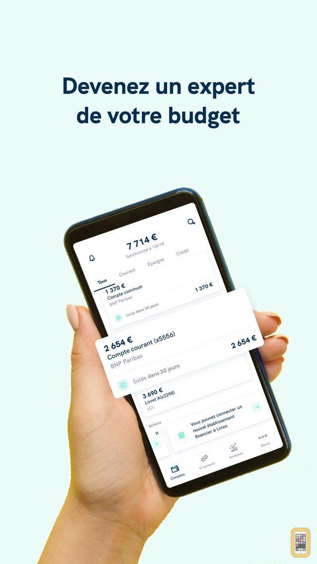 Screenshot - Linxo : mes comptes, mon budget, mes finances