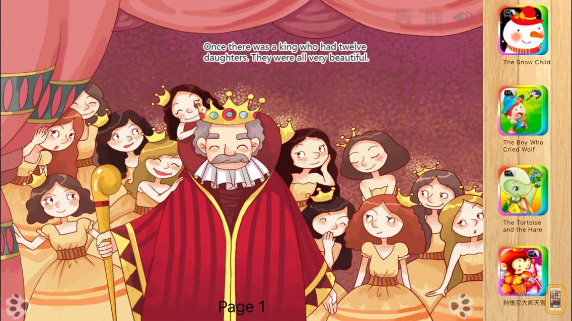 Screenshot - Twelve Dancing Princesses Fairy Tale iBigToy