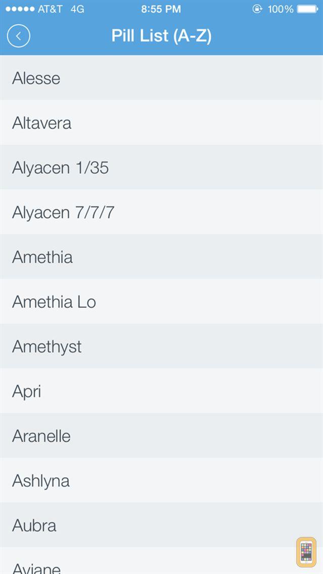 Screenshot - Oral Contraceptives