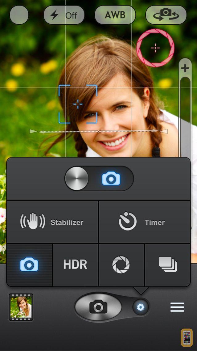 Screenshot - Top Camera - HDR, Slow Shutter