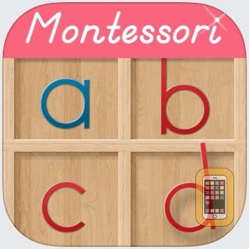 Montessori Movable Alphabet by Rantek Inc. (Universal)