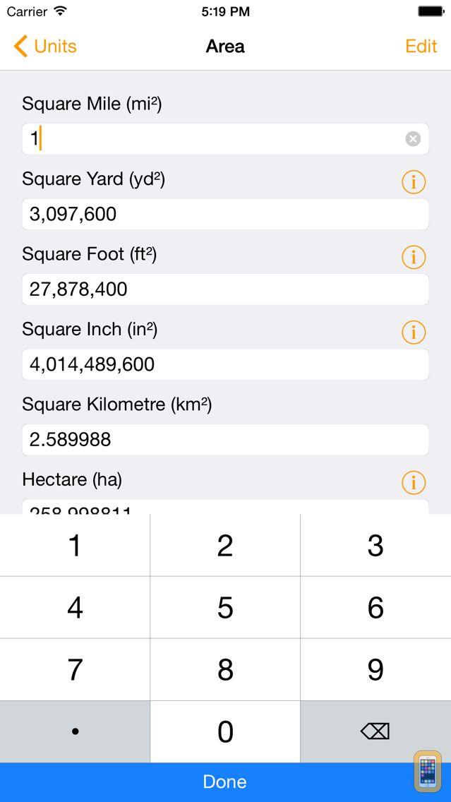 Screenshot - Units Premium