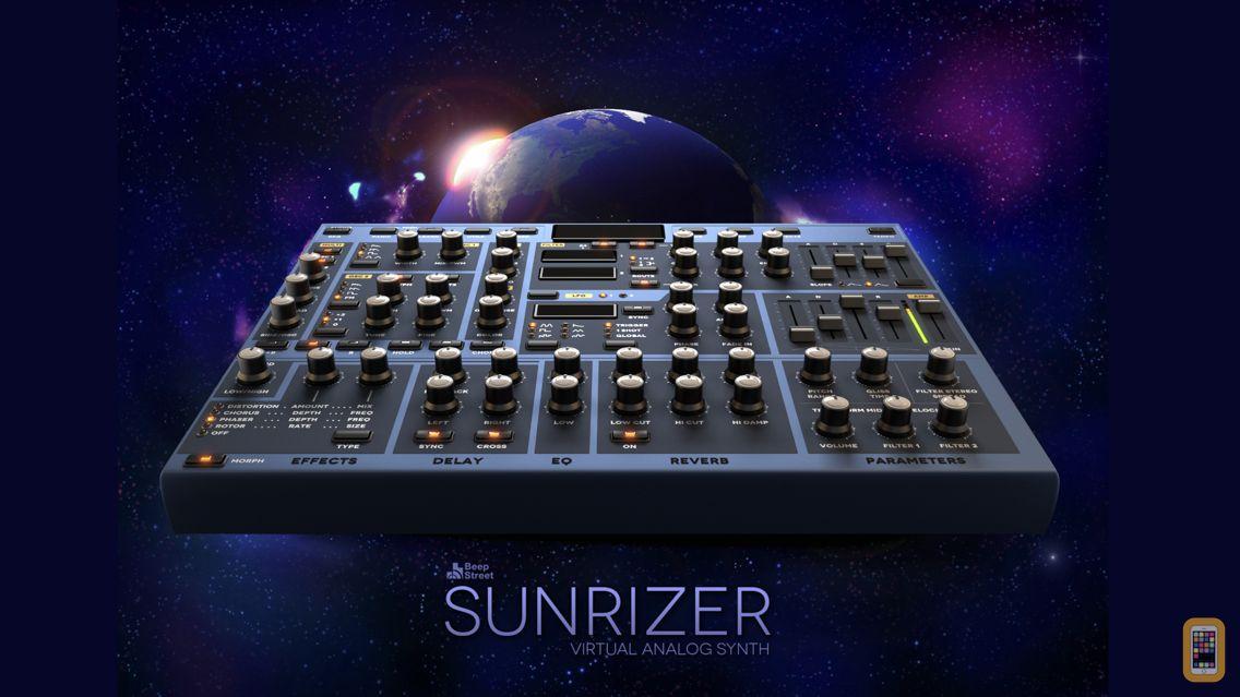 Screenshot - Sunrizer synth
