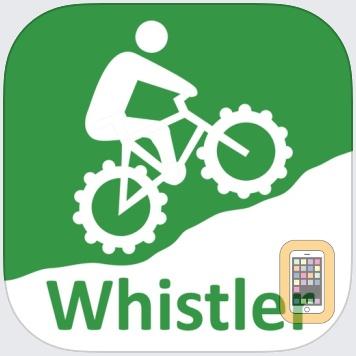 TrailMapps: Whistler by Ryan Robertson (iPhone)